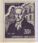 Sellos de America - México -  ANDRES MANUEL DEL RIO