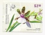 Sellos del Mundo : America : Argentina : Orquídea