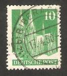 Sellos de Europa - Alemania -  48 A - La Catedral de Colonia