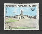 Sellos del Mundo : Africa : Benin :  Plaza de los martires
