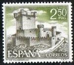 Sellos de Europa - España -  1883- Castillos de España. Sobroso ( Pontevedra ).
