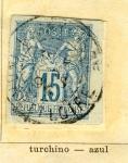 Sellos de Europa - Francia -  Republica Ed 1882