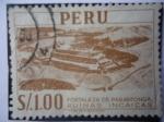 Sellos de America - Perú -  Fortaleza de Paramonga- Ruinas Incaicas