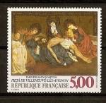 Sellos de Europa - Francia -  Pintura de Enguerrand Quarton.