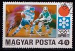 Sellos del Mundo : Europa : Hungría : Juegos Olímpicos Sapporo