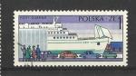 Sellos del Mundo : Europa : Polonia : Puertos.