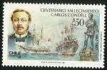 Sellos de America - Chile -  CENTENARIO FALLECIMIENTO CARLOS CONDELL