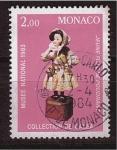 Sellos de Europa - Mónaco -  Museo Nacional