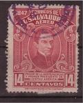 Sellos de America - El Salvador -  Manuel José Arce