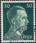 Sellos de Europa - Alemania -  EFIGIE DE HITLER 1941-43. GRABADOS. Y&T Nº 720