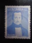 Sellos de America - Colombia -  Francisco de Paula Santander(1792-1840) Bicentenario de nacimiento - El hombre de las Leyes (Pintura