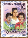 Sellos del Mundo : America : Rep_Dominicana : Hermanas MIRABAL