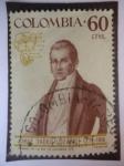 Sellos de America - Colombia -  Jorge Tadeo Lozano -1771-1816