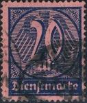 Sellos del Mundo : Europa : Alemania : CIFRAS 1922-23. Y&T Nº S34