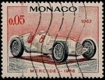 Sellos del Mundo : Europa : Mónaco : Mercedes 1936