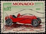 Sellos del Mundo : Europa : Mónaco : Alfa Romeo 1932