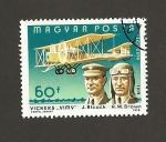 Sellos de Europa - Hungría -  Avión Vickers VIMV