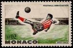 Sellos del Mundo : Europa : Mónaco : Asociación de fútbol