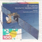 Sellos de Europa - Alemania -  EUROPA CEPT- Satélite Kopernikus