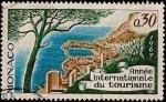 Sellos de Europa - Mónaco -  Año internacional del Turismo