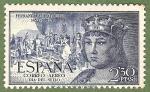 Sellos de Europa - España -  V Cent. del nac. de Fernando el Católico.-Edifil 1115