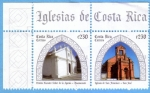 Sellos de America - Costa Rica -  Iglesias de Costa Rica