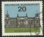 Sellos de Europa - Alemania -  LANDESHAUPTSTADTE - D. BUNDESPOST