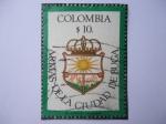 Sellos de America - Colombia -  Escudo de Armas de la Ciudad de Buga