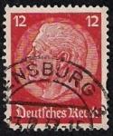Sellos del Mundo : Europa : Alemania : Presidente Von Hindenburg