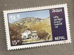 Sellos del Mundo : Asia : Nepal : Estación Hidroelectrica