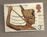 Sellos del Mundo : Europa : Reino_Unido : Descubrimiento tumba Tutankamon 1922