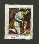 Sellos de Asia - Yemen -  Pinacoteca Munich