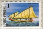 Sellos de Asia - Maldivas -  17 Ilustración