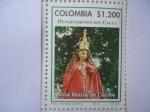Sellos de America - Colombia -  Departamentos de Colombia -Cauca- Niña María de Caloto -(6/12)