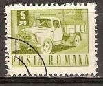 Sellos del Mundo : Europa : Rumania : Carpati camión (p).