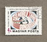 Sellos de Europa - Hungría -  58 Congreso Mundial de Viajes