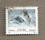 Sellos del Mundo : Asia : Nepal : Monte Everest