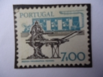 Sellos de Europa - Portugal -  Rotativa y Prensa Tipográfica manual