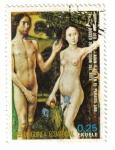 Sellos del Mundo : Africa : Guinea_Ecuatorial : Adan y Eva en el Paraíso