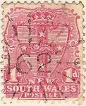 Sellos del Mundo : Oceania : Australia : New South Wales Postage