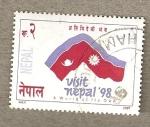 Sellos del Mundo : Asia : Nepal : Visite Nepal