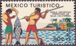 Sellos de America - México -  Pesca deportiva Territorio Baja Califormia