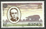 Sellos del Mundo : Europa : Isla_de_Jersey : John Ireland