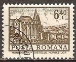 Sellos del Mundo : Europa : Rumania : Castillo Hunidoara.