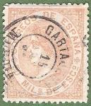 Sellos de Europa - España -  Isabel II, Edifil 96