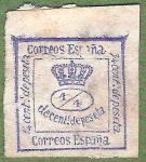 Sellos del Mundo : Europa : España : Corona Real, Edifil 115