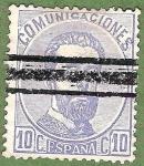 Sellos de Europa - España -  Amadeo I, Edifil 121 A