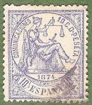 Sellos de Europa - España -  Alegoría de la Justicia, Edifil 145