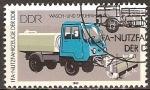 Sellos de Europa - Alemania -  Vehículos IFA de la RDA, Lavado y pulverizador (DDR).