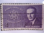 Sellos de America - Estados Unidos -  Brien McMahon